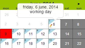 Calendario Con Numero Giorni.Calcolatrice Di Giorni Lavorativi In Italia